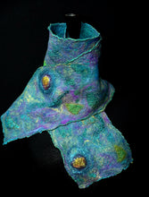 "Load image into Gallery viewer, ""Oceana"" mini nuno scarf"