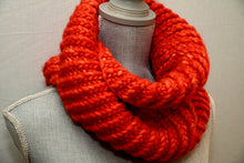 Load image into Gallery viewer, Orange Crush Möbius Cowl