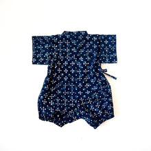 Charger l'image dans la galerie, Baby kimono rompers INDIGO HOSHI