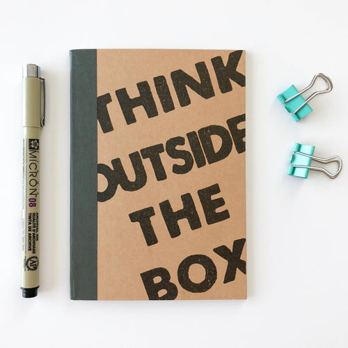 Carnet A6 - Think outside the box