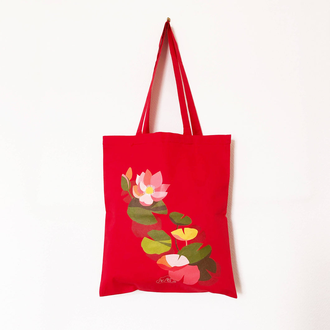 Tote bag Lotus