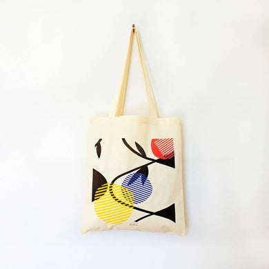 Tote bag illustré coton bio Leaf