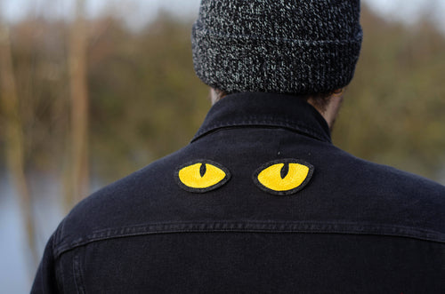 Patch yeux de chat jaune