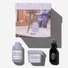 Smoothing Box Kit regalo LOVE, per capelli crespi o indisciplinati 3 pz.  Davines