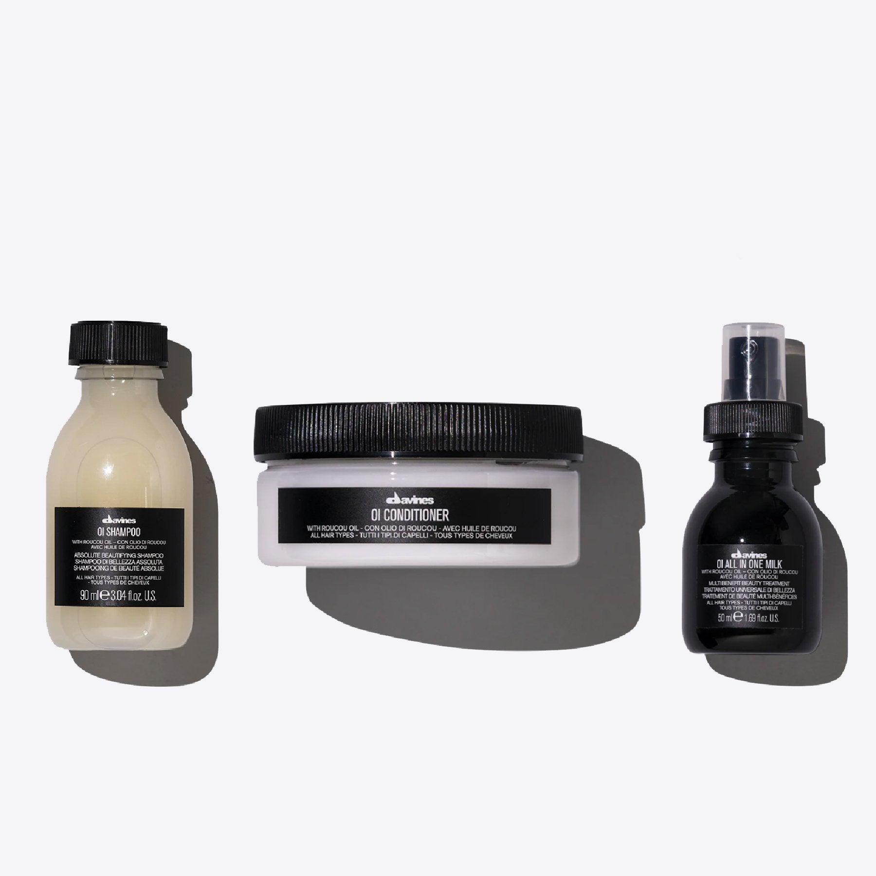 Kit OI Travel 1  3 pz.Davines