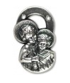 Rosary Parts Cherubs Centerpiece 3/4 inch