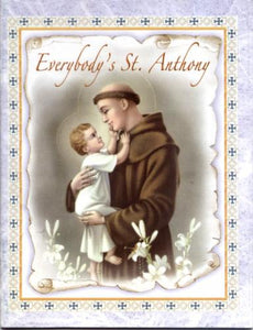 Book Religious Everybody's Saint Anthony 32 Pages