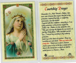Prayer Card Courtship Prayer Laminated HC9-242E