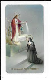 Prayer Card Promises To Our Lord To Saint Margaret Mary In Favor To Those Who Are Devoted To His Sacred Heart Laminated TJP22 400-177