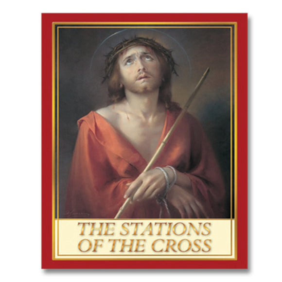 Book Religious The Stations Of The Cross 28 Pages