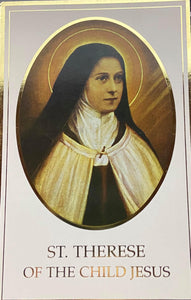 Book Religious  Pamphlet St. Therese Of The Child Jesus