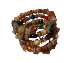 Native American Jewelry Bracelet Semi-Precious Stones Navajo Treasure