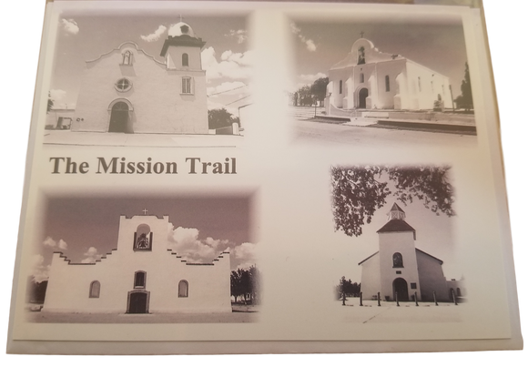 Paper Good Greeting Card Mission Trail Photograph Black and White