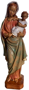 Statue Madonna and Child Handmade in Italy