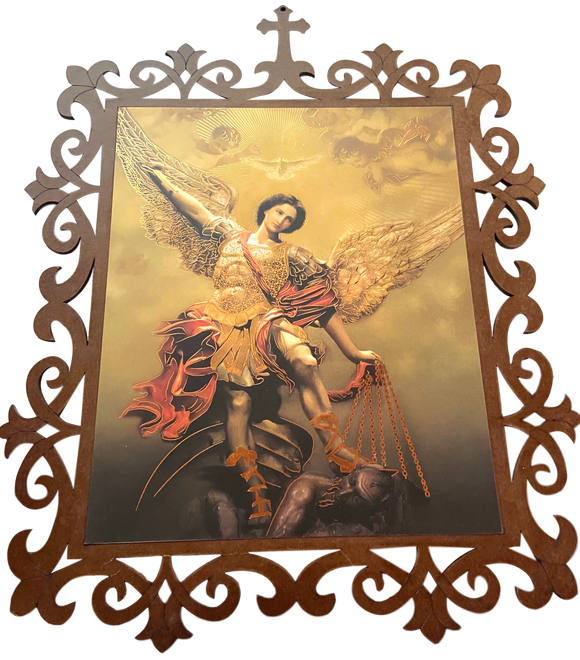 Decor Saint Michael the Archangel Wall Hanging Decor