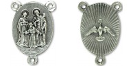 Rosary Parts Holy Family Holy Spirit Center Piece 3/4 inch