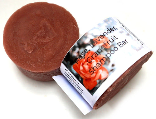 Rose, Lavender, Grapefruit Shampoo bar