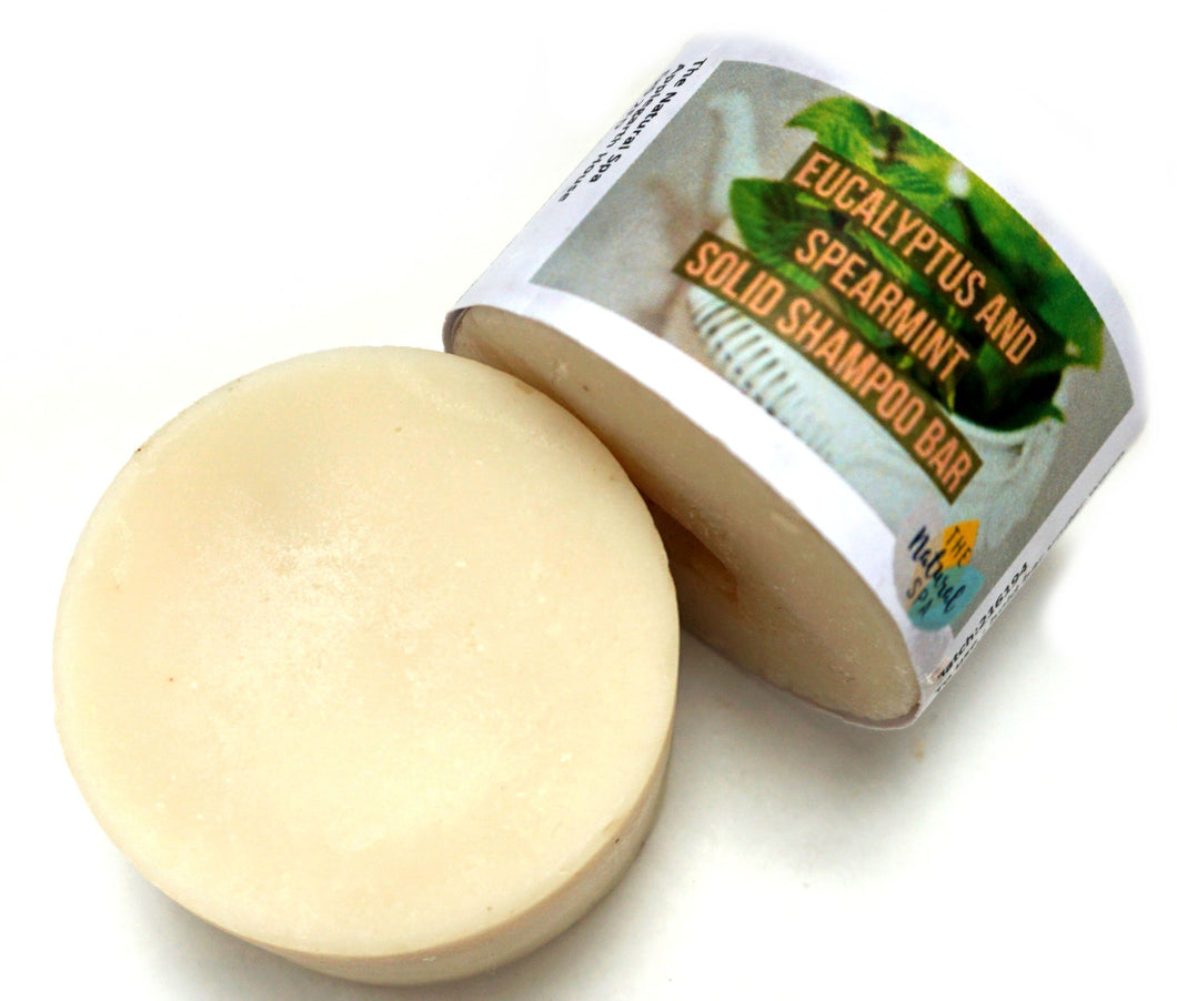 Spearmint and Eucalyptus Shampoo Bar
