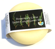 Load image into Gallery viewer, Rosemary and Lime, Solid Conditioner - Suitable for all hair types