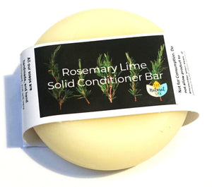 Rosemary and Lime, Solid Conditioner - Suitable for all hair types