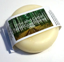 Load image into Gallery viewer, Pine and Cedar Solid Conditioner Bar - Suitable for all hair types