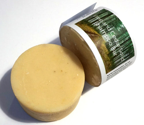 Cedarwood and Pine Shampoo Bar - The Natural Spa - 75g