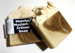 Matcha Mysteries Soap