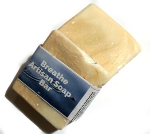 Breathe Cold Process Soap - The Natural Spa - 100g