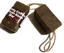 Load image into Gallery viewer, Creamy Coffee Soap On A Rope