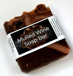 Mulled Wine  Soap Bar