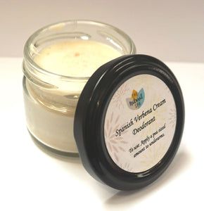 Cream Deodorant - Medium Jar - 2 scents available