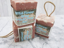 Load image into Gallery viewer, Wildflower Wisp Soap On A Rope - thenaturalspa