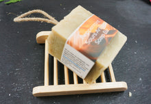 Load image into Gallery viewer, Peppermint Sours, Cold processed soap on a rope, - thenaturalspa