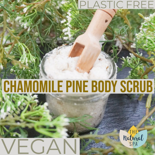 Chamomile Pine Body Scrub - thenaturalspa