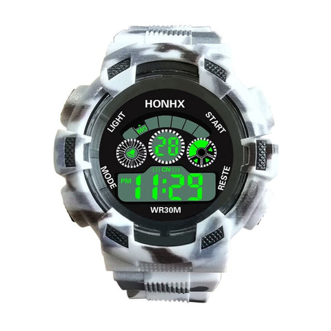 Luxury Digital LED Analog Quartz Army Military Waterproof Sport Watch