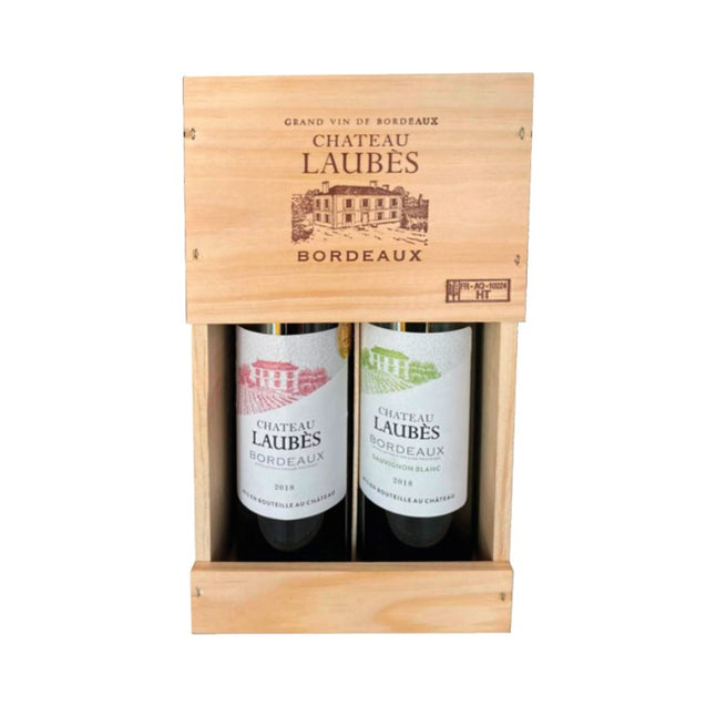 Chateau Laubes Giftbox 2x75cl