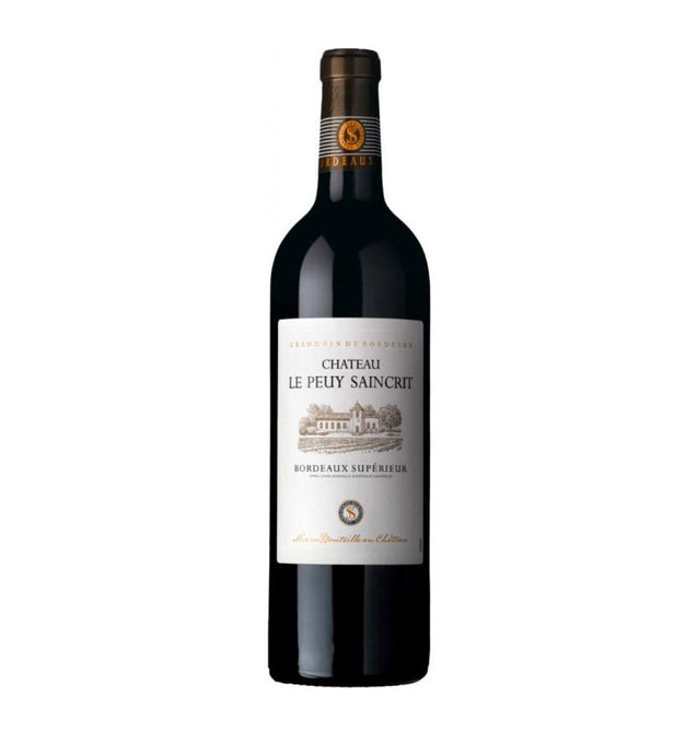 Chateau Le Peuy Saincrit Bordeaux Superieur 75cl