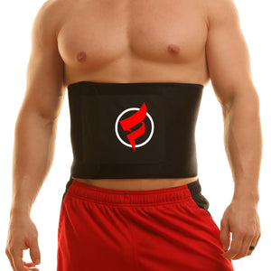 fitru waist trimmer black keith