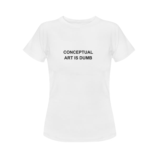 Women's Conceptual Art T Shirt #1