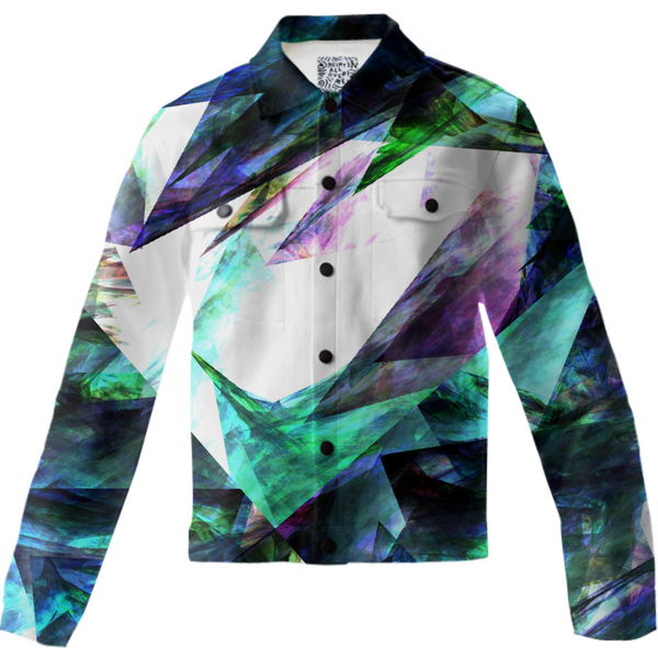 Unisex Jean Jacket Colorful #1