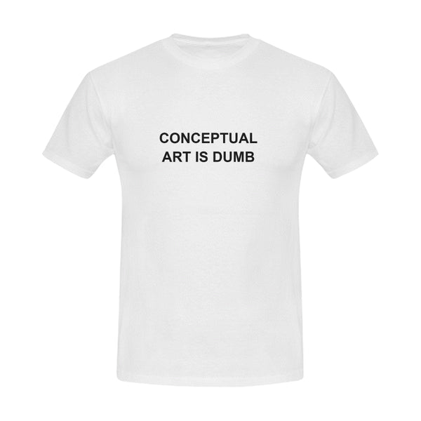 Men's Conceptual Art T Shirt #1