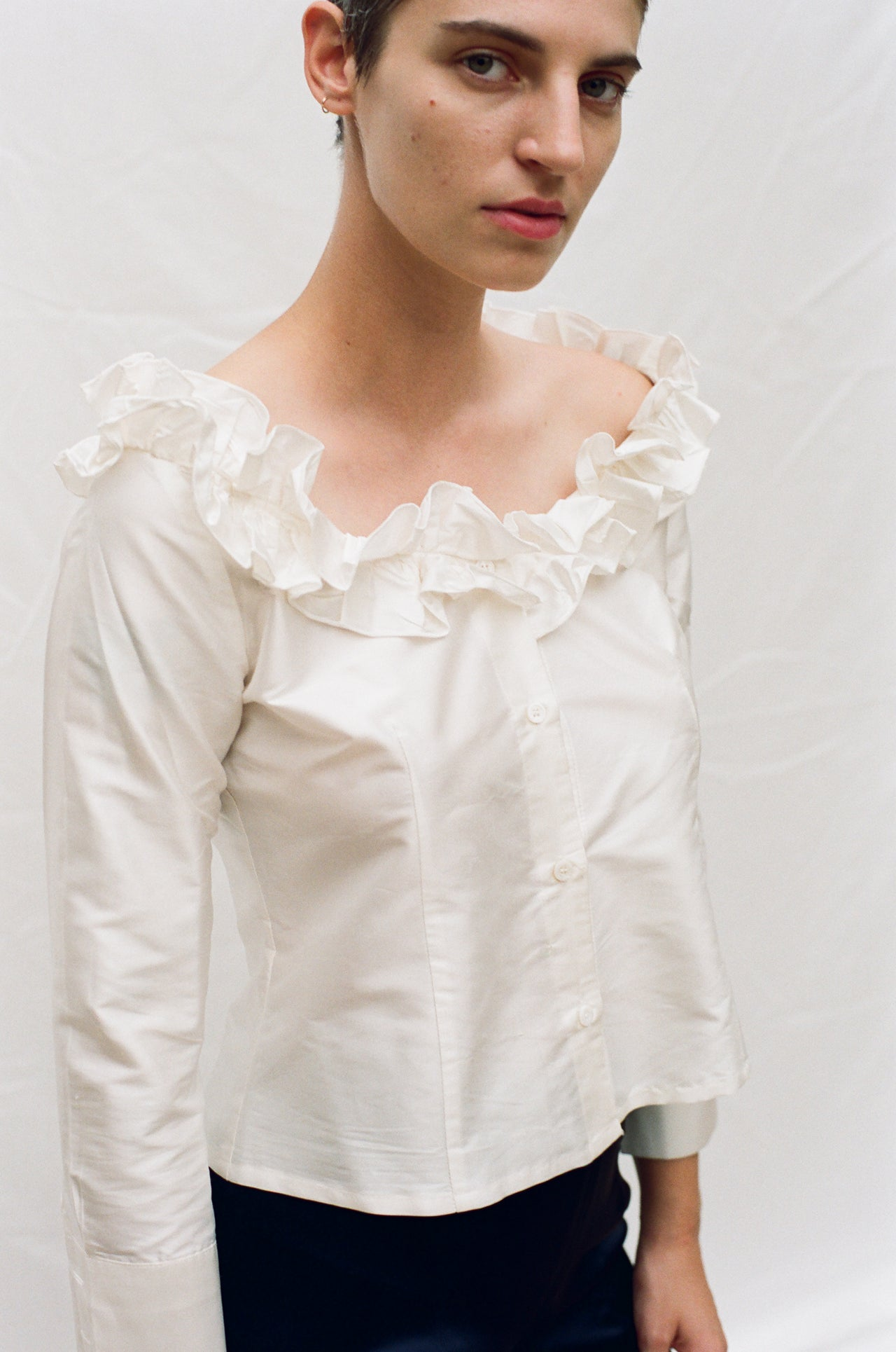 Amalia Blouse White