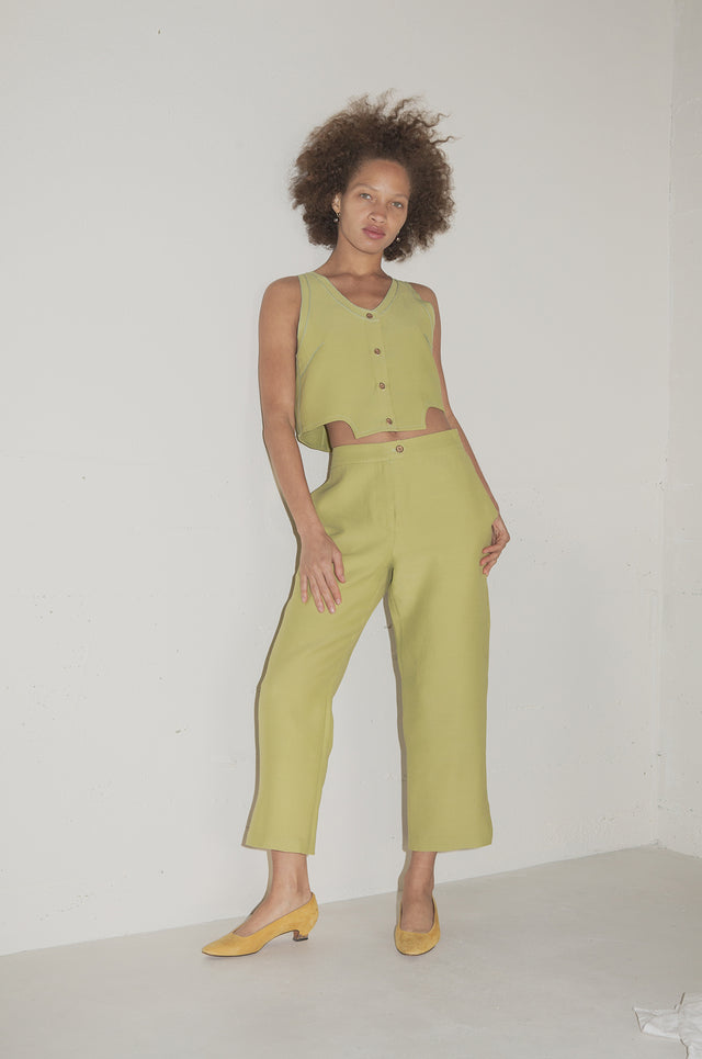 Stanley Pant Chartreuse