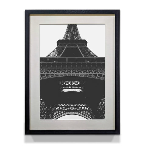 Eiffel Tower Monochrome Classic Poster for Office and Home Decor - WhatsYourPrint