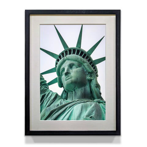 Statue of Liberty Closeup Home and Office Decor Poster - WhatsYourPrint