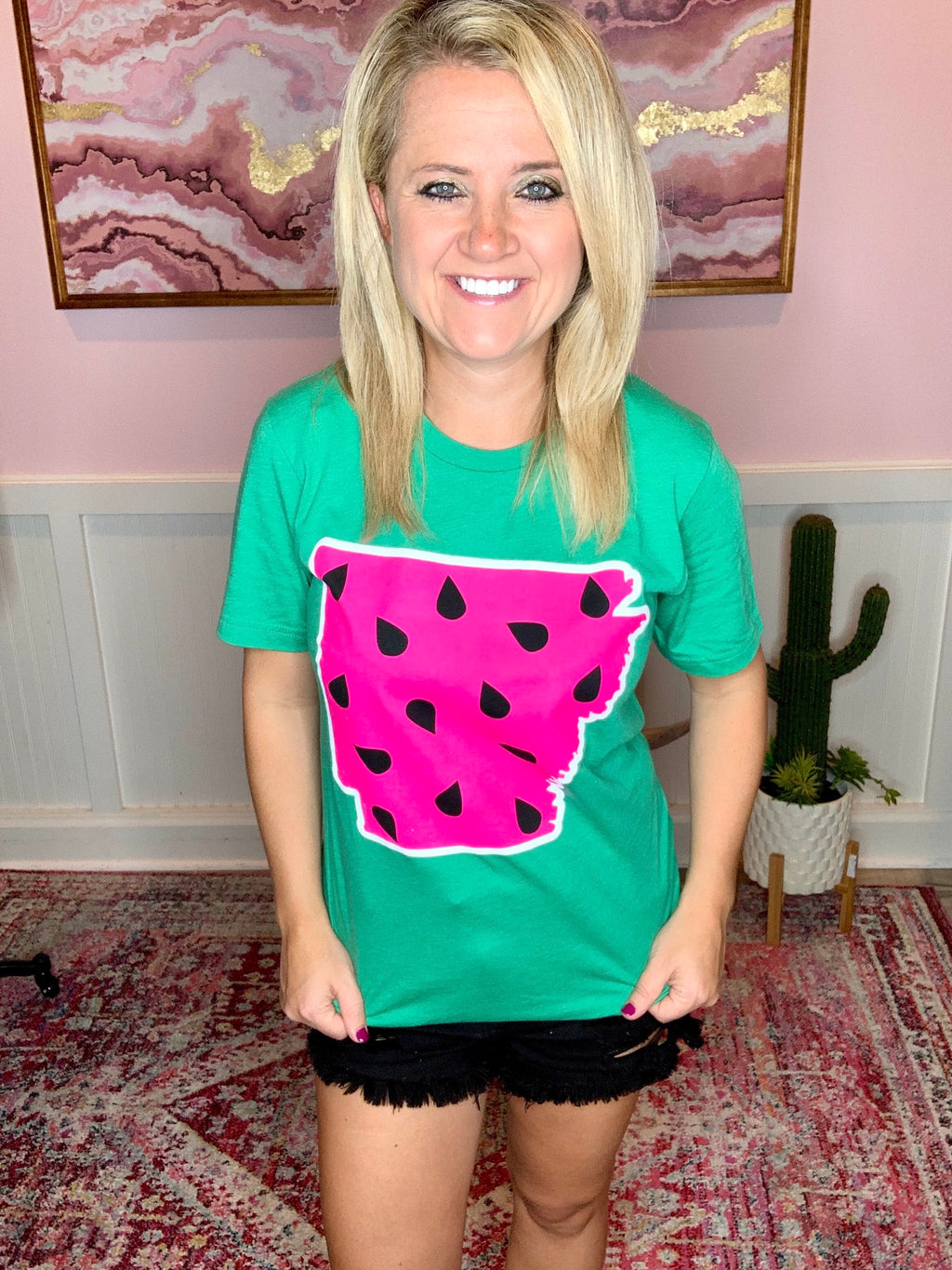 State Watermelon Tees