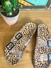 Clear Cheetah Birkenstocks