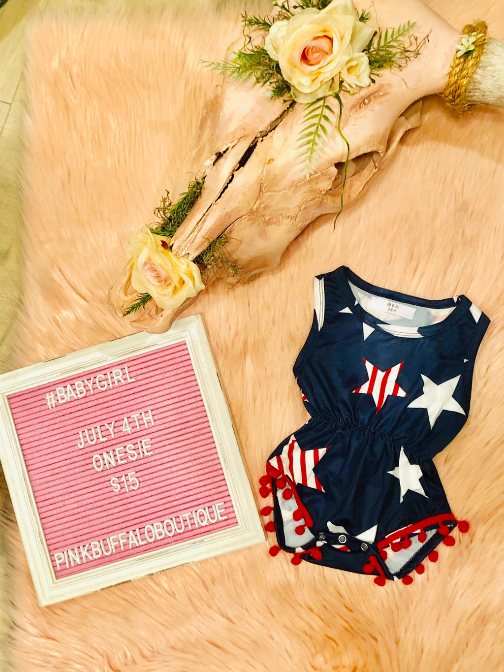 July 4th Onesie