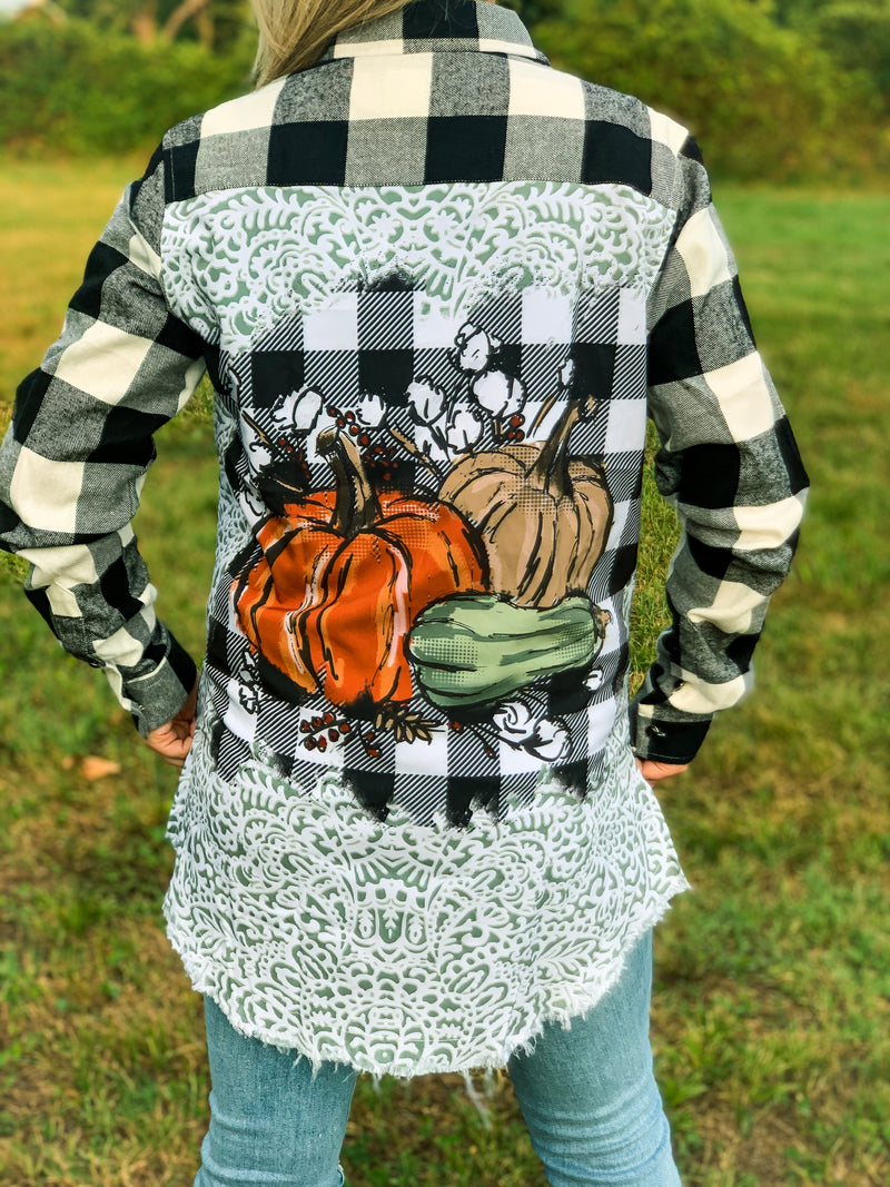 Pumpkin Flannel