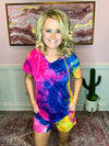 Tie Dye Lounge Set Rainbow